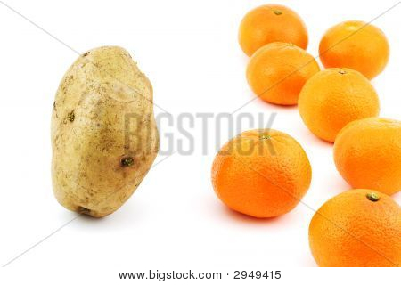 Potato Vs Mandarins