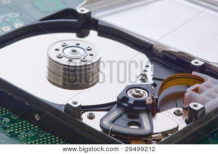 Hard Disk Disassembled