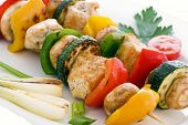 picture of braai  - Barbecue Skewer - JPG