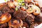 stock photo of boeuf  - Meat Ragout - JPG