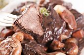 stock photo of boeuf  - Boeuf Bourguignon - JPG