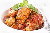 stock photo of chicken cacciatore - Chicken Cacciatore - JPG