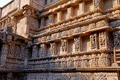 Rani Ki Vav, An Stepwell On The Banks Of Saraswati River In Patan. A Unesco World Heritage Site In G poster