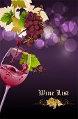 foto of grape-vine  - Red Wine - JPG