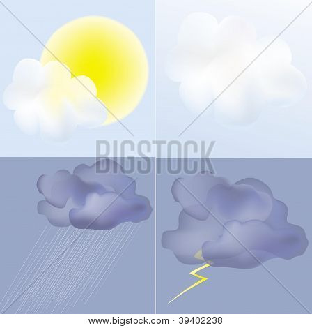 weather in vector