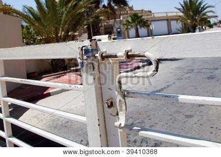 Gate Detail In Djerba Tunisia