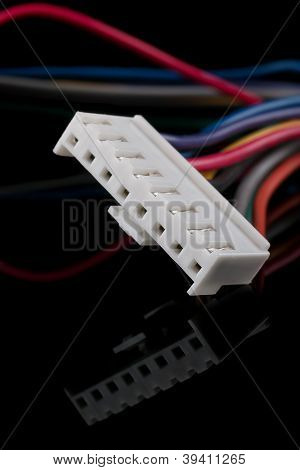 White connector
