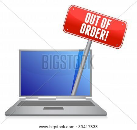 Out Of Order Laptop Service