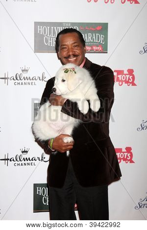 LOS ANGELES - NOV 25:  Obba Babatunde arrives at the 2012 Hollywood Christmas Parade at Hollywood & Highland on November 25, 2012 in Los Angeles, CA