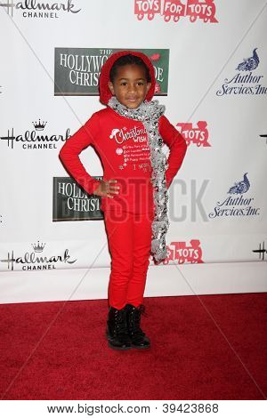 LOS ANGELES - NOV 25:  Layla Crawford arrives at the 2012 Hollywood Christmas Parade at Hollywood & Highland on November 25, 2012 in Los Angeles, CA