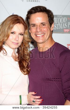 LOS ANGELES - NOV 25:  Tracey Bregman, Christian LeBlanc arrives at the 2012 Hollywood Christmas Parade at Hollywood & Highland on November 25, 2012 in Los Angeles, CA
