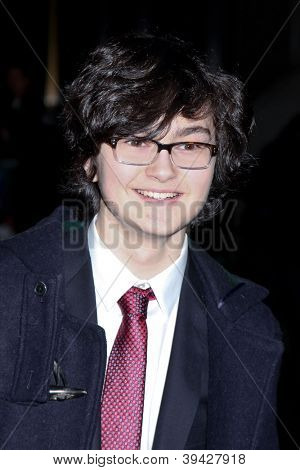 NEW YORK, NY - NOVEMBER 26: Actor Jared Gilman attends the IFP's 22nd Annual Gotham Independent Film Awards at Cipriani Wall Street on November 26, 2012 in New York City.