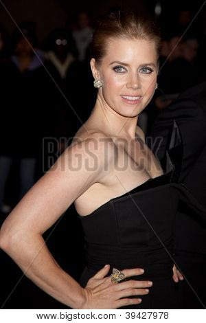 NEW YORK, NY - NOVEMBER 26: Actress Amy Adams attends the IFP's 22nd Annual Gotham Independent Film Awards at Cipriani Wall Street on November 26, 2012 in New York City.