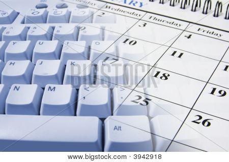 Página de calendário
