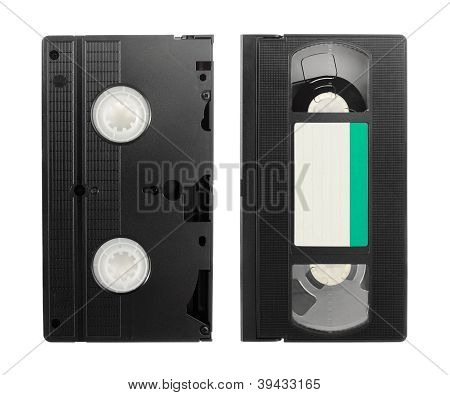 Video Tape Isolated