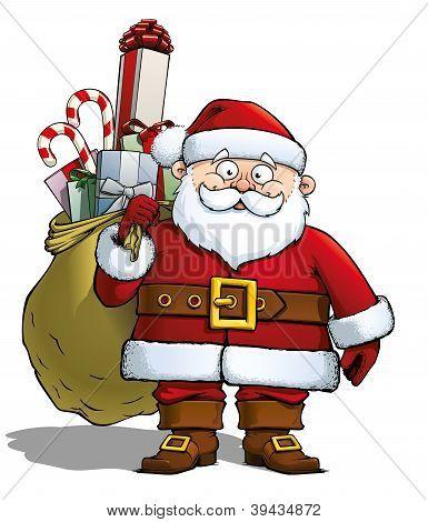 Santa With Sack.eps