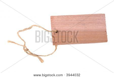 Wooden Label