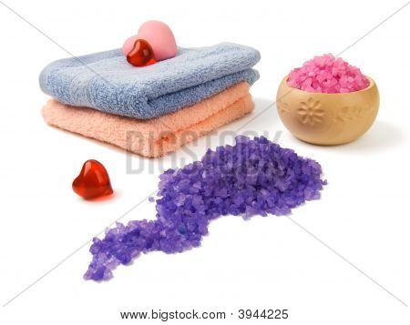 Spa Salt And Soap
