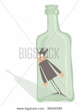 Drunkard Inside The Bottle