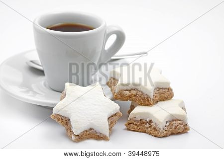 Cinnamon stars christmas cookies