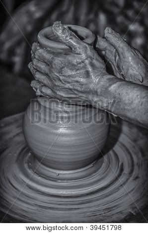 Hand Of A Potter