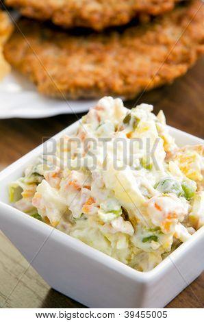 Delicious Russian Salad