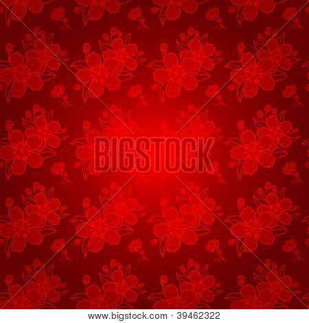 Oriental Chinese Seamless Pattern