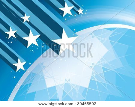Abstract Star Burst Background Abstract Star Burst Background