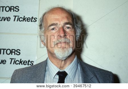 BLACKPOOL, ENGLAND - SEPTEMBER 4: John Morton, General Secretary of the Musicians Union, attends the Trades Union Congress on September 4, 1989 in Blackpool, Lancashire. He served from 1971 to 1990.