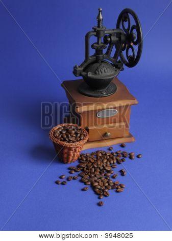 Retro Coffee Mill