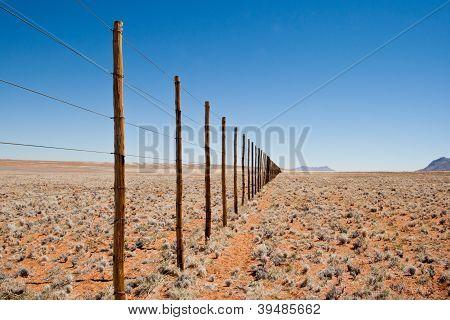 Namib Naukluft Park Fence Line