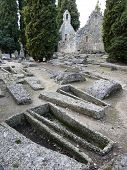 image of gaul  - Merovingian cemetery near Civaux in France dating from the 5th - JPG