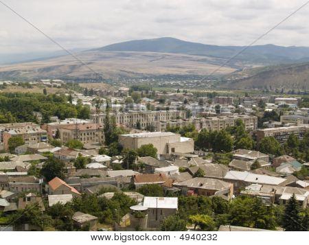 Aerial View On Gori