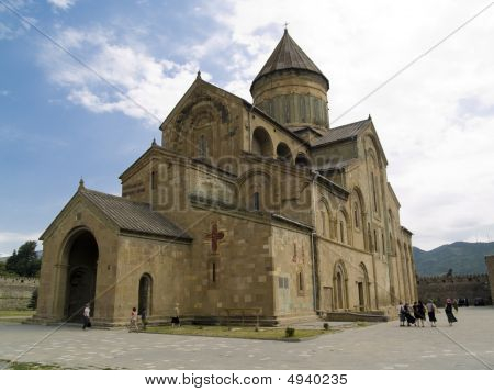 Orthodox Cathedral In Mtskheta
