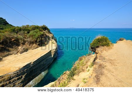 sea landscape in summer