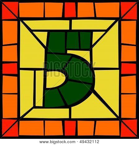 5 - Mosaic number
