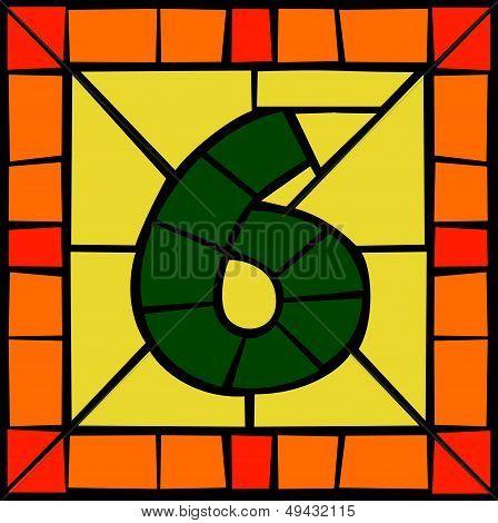6 - Mosaic number
