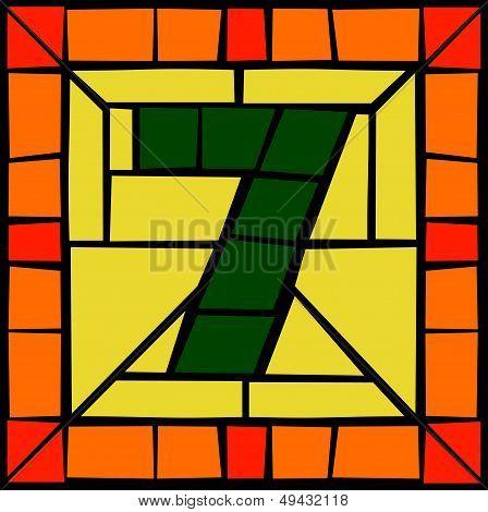 7 - Mosaic number