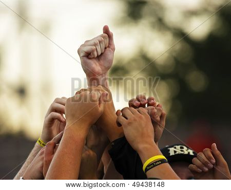 Canada Games Baseball Men Hands