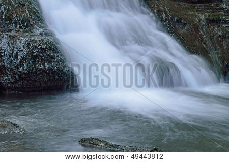 Cascading White Water