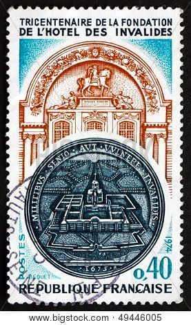 Postage Stamp France 1974 Hotel Des Invalides