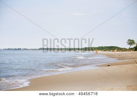Baltic Sea Wild Beach