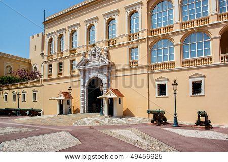 Princes Palace of Monaco.