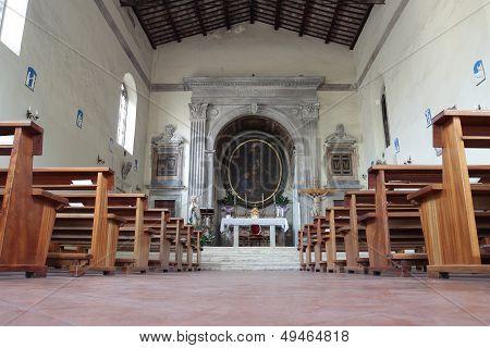 The Church Of Santa Aurea