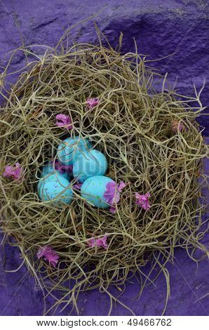 Faux Robin's Blue Eggs