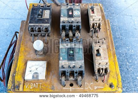 Electrical Circuit Board And Controller.