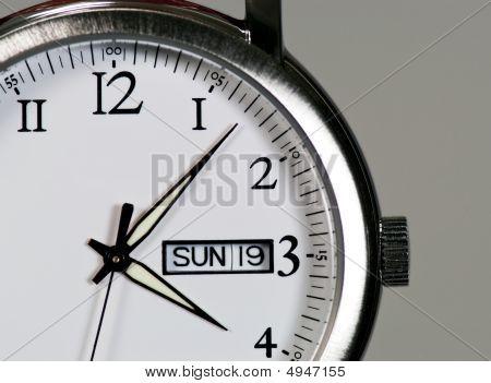 Steel Wristwatch