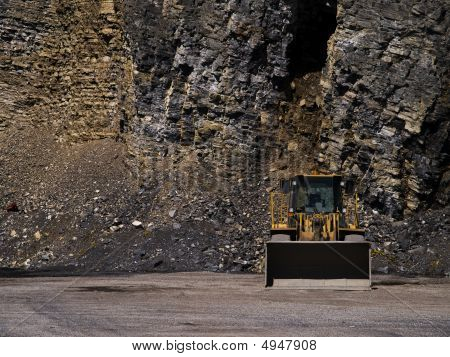 Machinery In A Mine