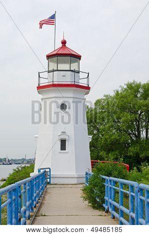 Cheboygan Crib Lighthouse, Michigan