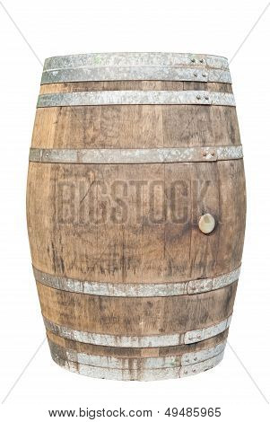 Big Old Wine Barrel